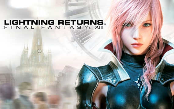 Lightning Final Fantasy Xiii Giant Wall Art Poster Print