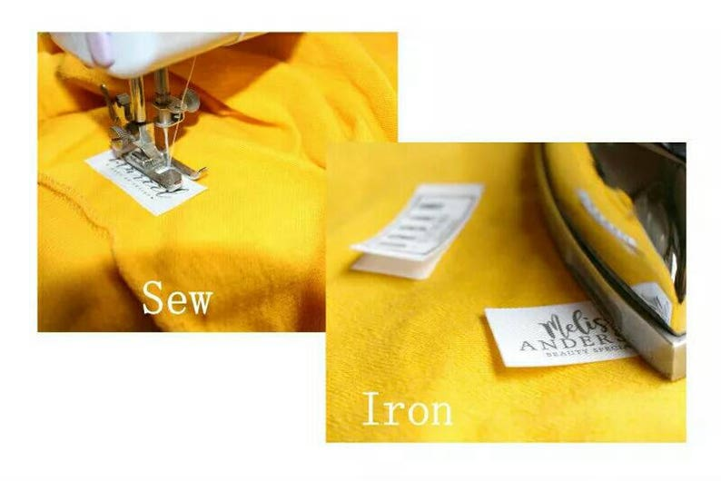 Label For Handmade Item,Sew In  and Iron On Labels For Handmade Items Label,Iron On Tags,Handmade Item Tags Custom Labels For Clothing