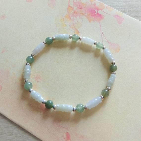 Authentic Natural Grade A 6mm Round Jadeite Bead Necklace 52cm L