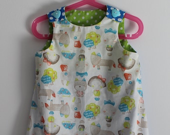 "Very cute dress ""All my friends"" T 3 years"