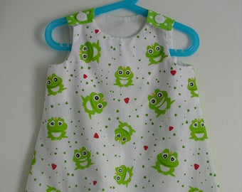 "Dress ""Little frogs"" T 18 months"