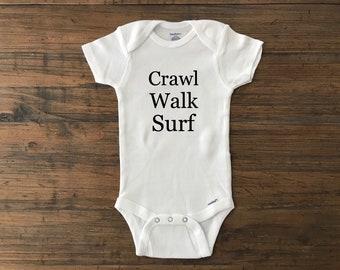 1ca80b452 Crawl walk surf • surfer baby • surf • surfer • crawl walk golf • golfer •  golf baby • crawl walk farm • farmer • baby farmer • farm boy •