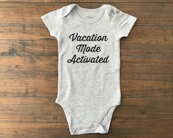 Vacation • vacay onesie • vacation mode • baby onesie • custom baby onesie  • custom vacation onesie • vacation toddler shirt • vacay shirt • 633253f88