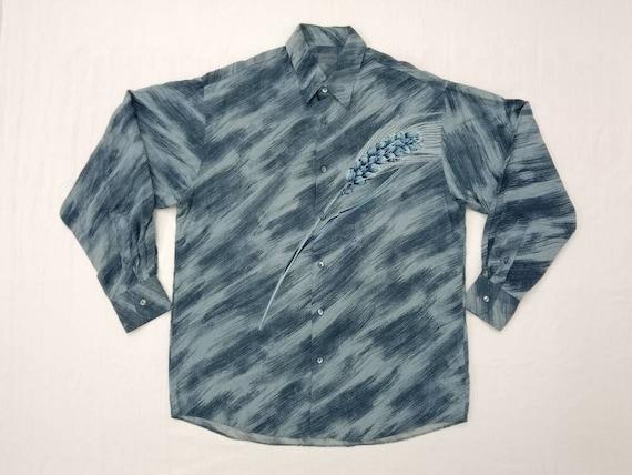 Kenzo rayon dress shirt