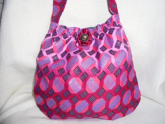 3e0247462e43 SENDING quick evening bag 2 pockets hot pink black and