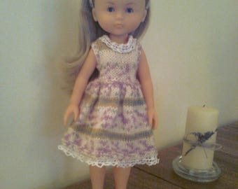 knitted handmade dress for 33 cm the sweethearts doll