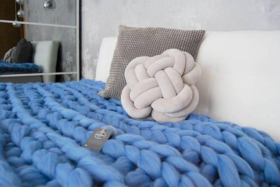 Königin Größe klobig Decke weiche voluminöse wolle Bett | Etsy