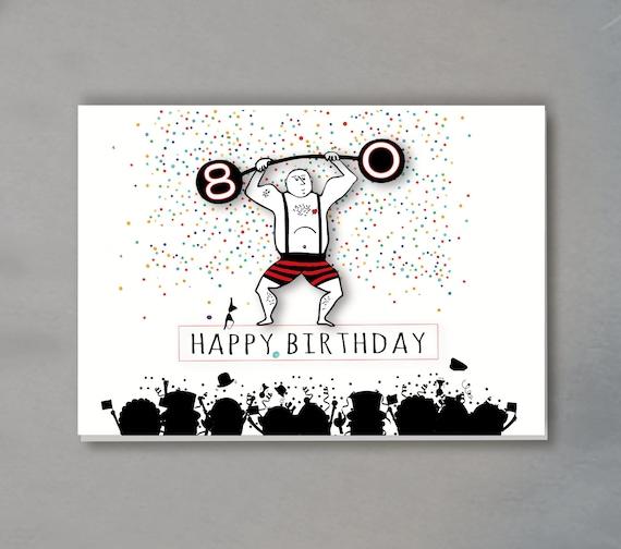 Geburtstagskarte 80 jahre