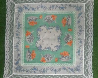 Minton handkerchief