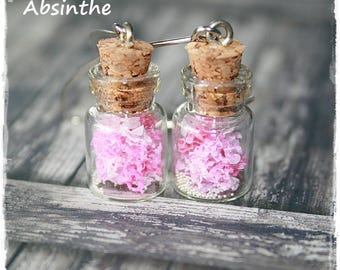 -Pierced earrings - jars - summer Collection-