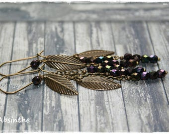 -Pierced earrings - ethnic Chic Collection-