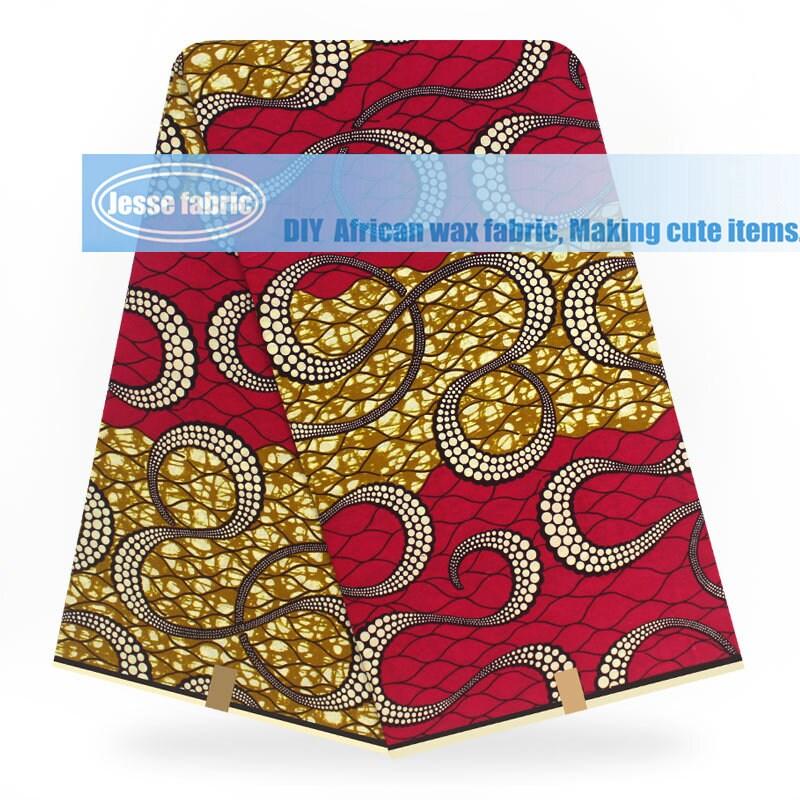 Vente en gros de 6 yards / Afrique en Wax / tissu / coton nigérian ankara tissu wax / Wax Super cire Hollandtex/Nigeria tissu batik B181023-17 e3f9c2