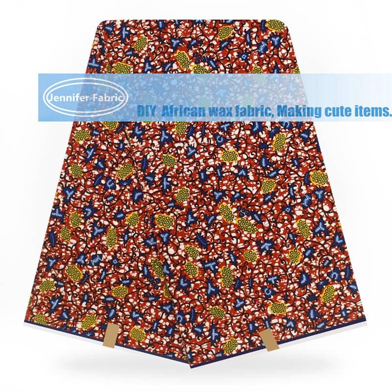 Vente en gros de 6 YARDS Super de haute qualité Super YARDS Wax Hollandais tissu 2018 Nihgerian mode africain Wax Print tissu Ankara tissu B181125-14 71e78c