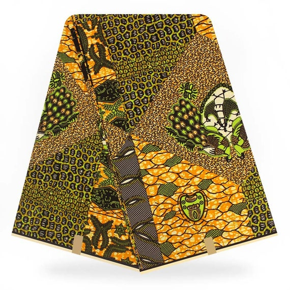 Vente en gros de 6 YARDS de haute qualité qualité qualité Super Wax Hollandais tissu 2018 Nihgerian mode africain Wax Print tissu Ankara tissu B1811213-34 5489a9
