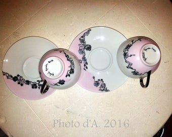 "Tasse café ""so girly"" (le duo)"