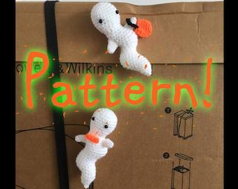 Crochet Wubbly Ghost Crochet Toy *PATTERN*