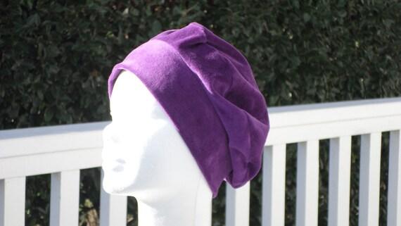 bonnet béret chapeau turban  femme enfant velours  créateur    Etsy c890dfcc07d