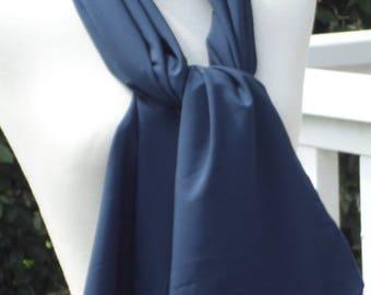 Shawl woman Blue Navy lovely wedding