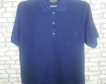 Vintage christian dior polo shirt/gucci/ysl/fendi