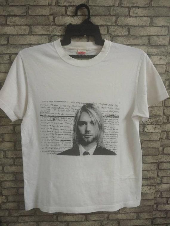 kurt cobain shirt/nirvana/grunge