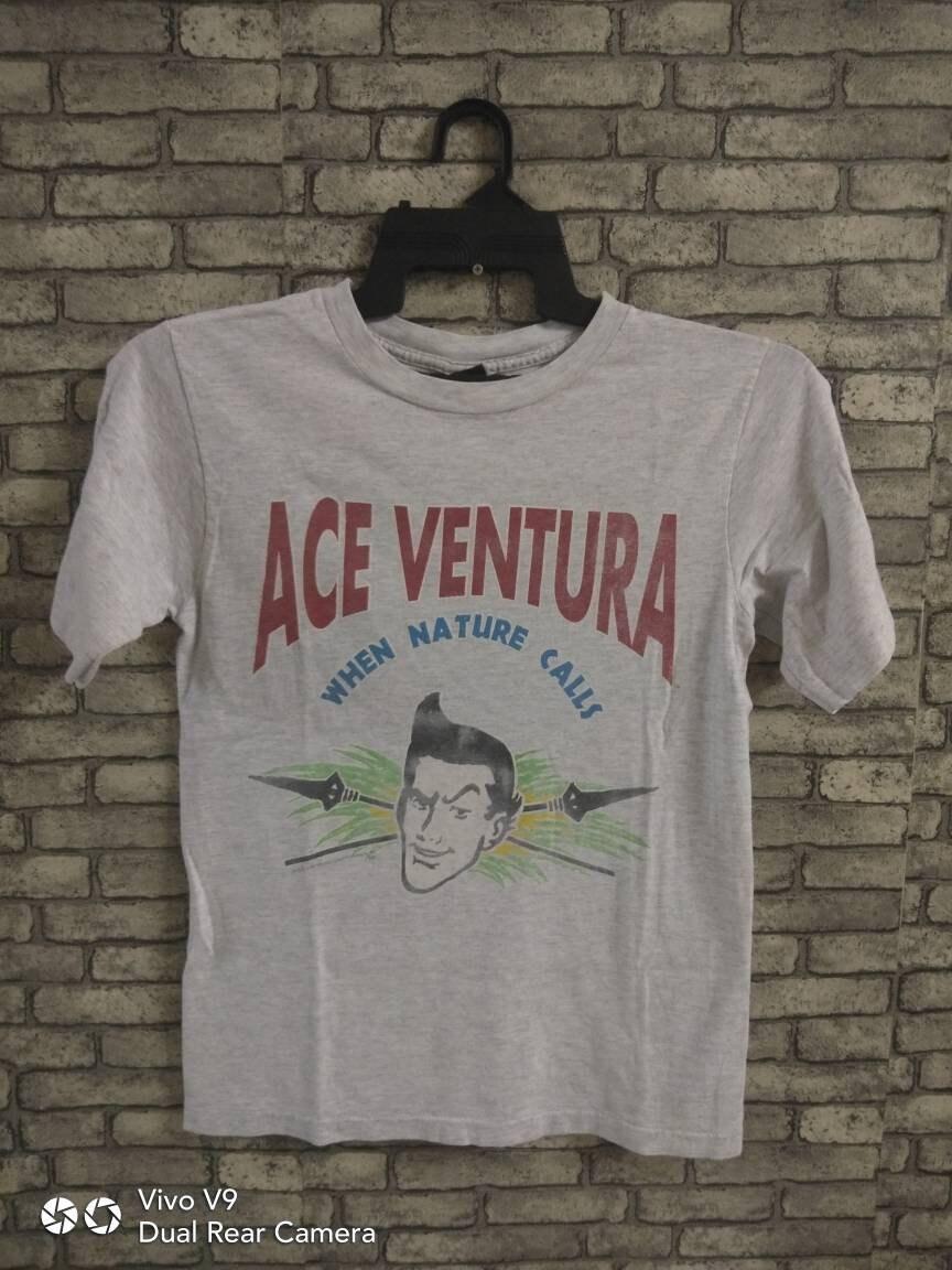 90 ace s rare Vintage ace 90 ventura film chemise jim carrey 2e516e ... 2fc3842f0d65