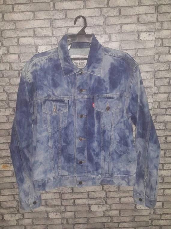 Rare levis acid wash jacket