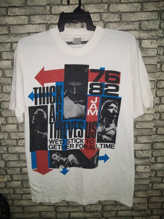 rare the jam band shirt/the who/the clash