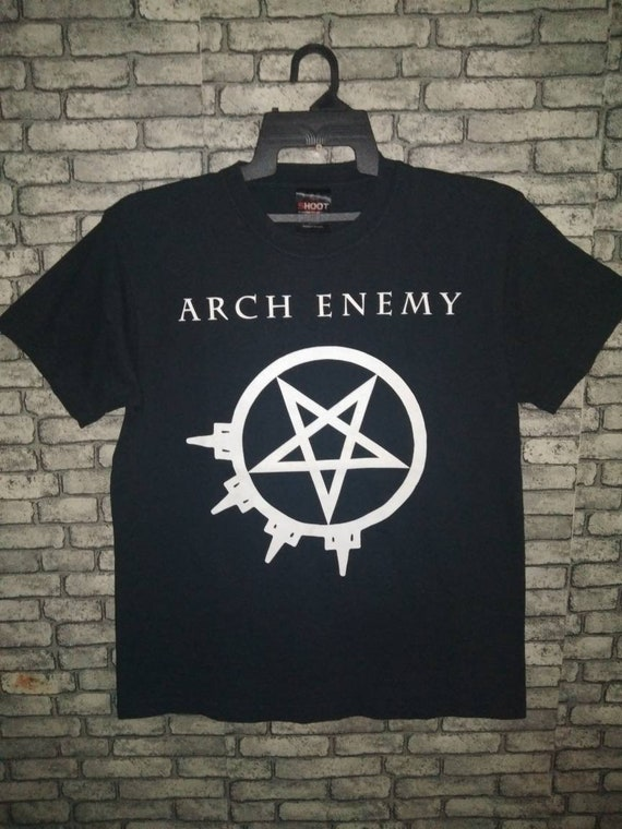 rare arch enemy band shirtmetaldeath metal