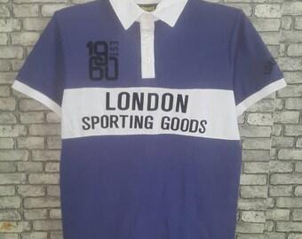 Rare lonsdale polo shirt