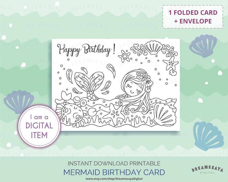 Costa Rica Karte Zum Ausdrucken.Meerjungfrau Geburtstag Karte Zum Ausdrucken Download Meerjungfrau Malvorlagen Madchen Geburtstag Grusskarten