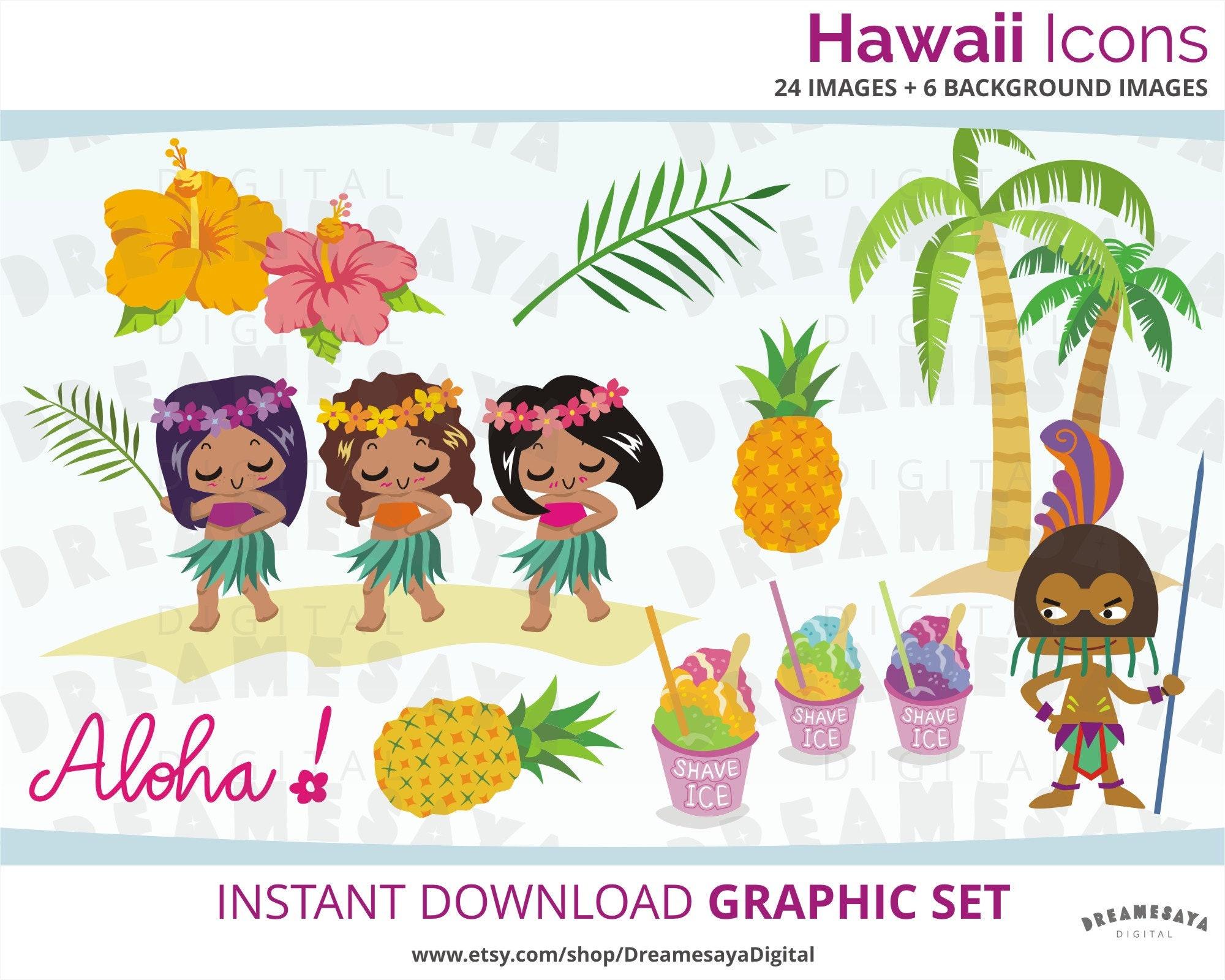 81bf3395c Cute Clip Art Hawaii Cartoons Hula Girls Clip Art Hawaii