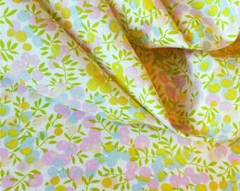 coupon LIBERTY wiltshire lemon candy print fabric