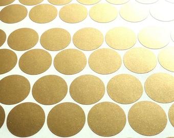 20 round stickers stickers gold / metallic gold