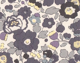 coupon design grey LIBERTY BETSY fabric