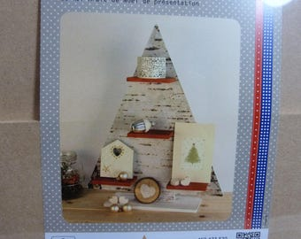 Christmas tree in MDF to decorate