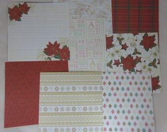 "Set of 2 Christmas ""first Christmas"" paper"