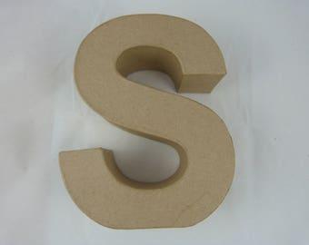 "Letter 3D decoration for home decor ""S"""