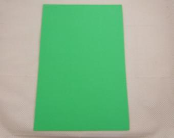 Foam rubber leaf: green meadow
