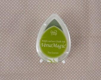 Small pad drop tea leaves