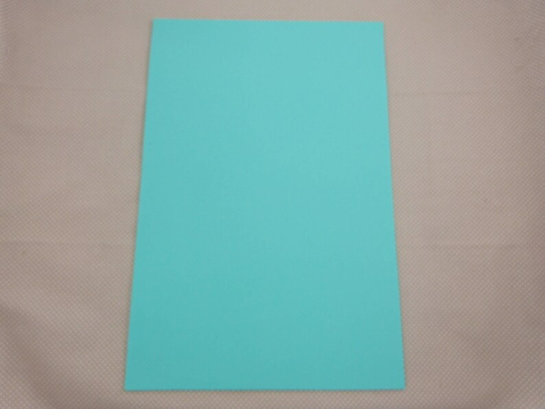 X2 rubber foam leaves: turquoise image 0