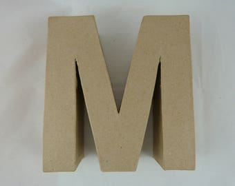 """Letter 3D decoration for home decor """"M"""""""