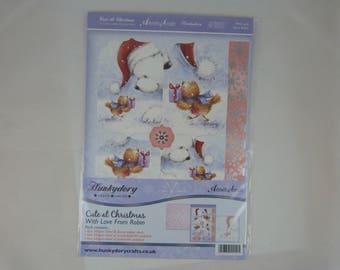 Kit for greeting cards: Christmas gift