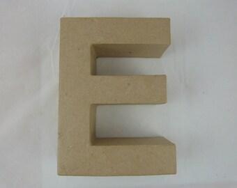 """3D decoration for home decor """"E"""" letter"""