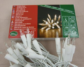 String of 20 interior light bulbs