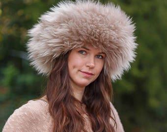Shangri-La Sheepskin Hat - 18 Colors Made To Order ada17e3cb54