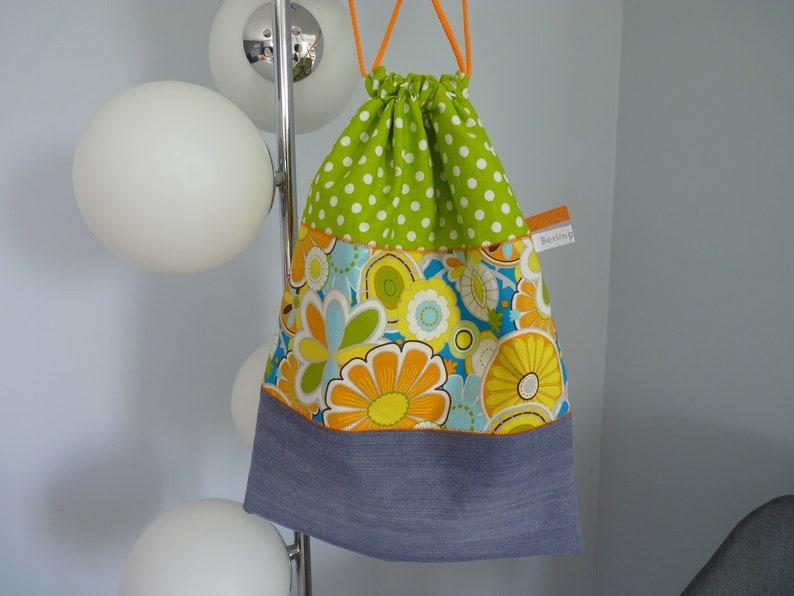 recycled denim pouch women gift bag Lingerie underwear