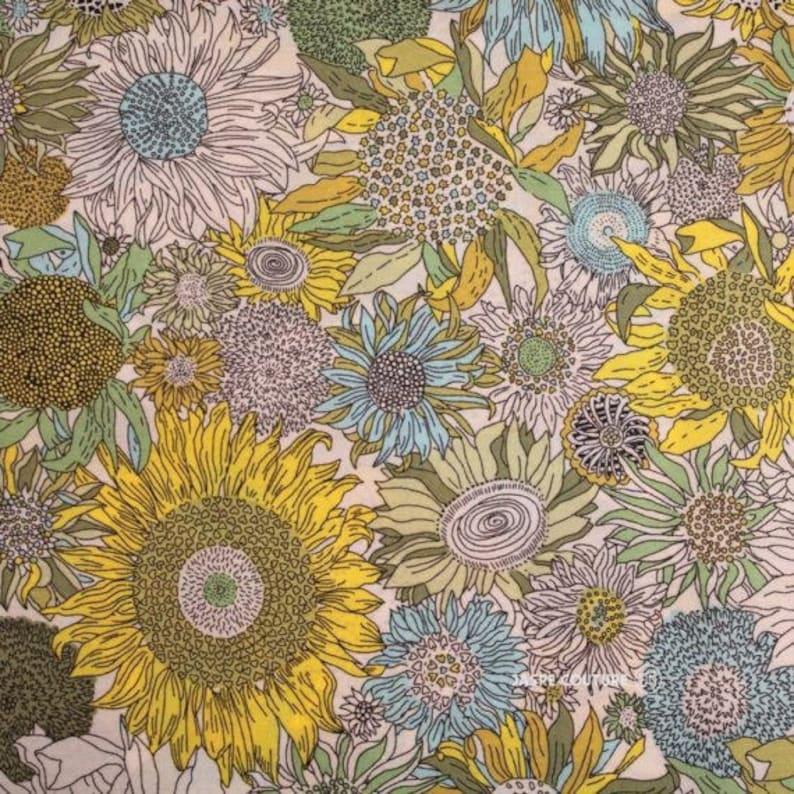 Liberty print edgy Liberty Small susanna suzanna yellow green