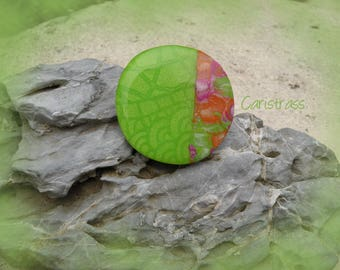 Ring round mica polymer clay