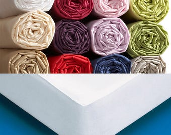 ALESE 80 X 100 cm waterproof silent for crib or bed cover cotton
