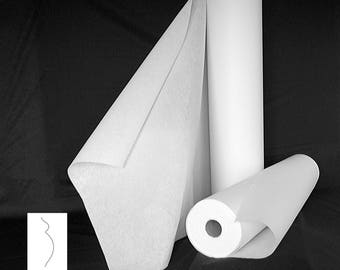 FUSIBLE nonwoven VISELINE 40gr white 47gr black 55gr white or white 100gr m2 for interfacing INTERLINING pricing
